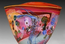 Art Glass Vessels / A collection of glass vases, glass bowls, and glass vessels. / by Marilyn Osborne