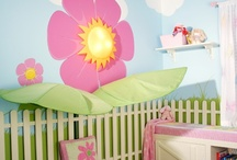 Nursery Wall Murals / Not a fan of decals and wallpaper but I like wall murals / by BABY SHOWER STATION.com