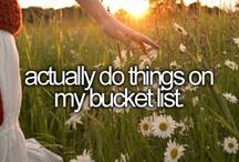 Bucket List / by Allison Turner