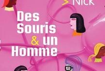 """Auteur """"Des Souris & un Homme"""" / A propos de mon livre """"Des Souris & un Homme"""" (Robert Laffont/2005).  / by LewisW"""