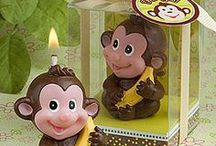 Monkey Theme  / by BABY SHOWER STATION.com