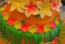 Hawaiian Luau Theme / by BABY SHOWER STATION.com