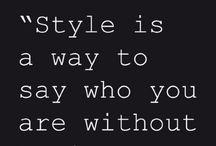 iStyle My Style / by Lujain Al-Kadi