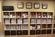 Organized Craft Room / by Seri Dreiling