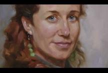 paint acry portrait / by Lila Wickham