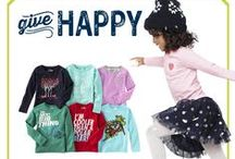 Give Happy / 'Tis better to give than just to receive. Smile & give happy is what we believe! / by OshKosh B'gosh