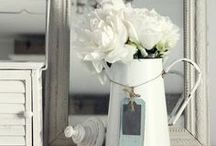 simply WHITE / White Inspiration - Home Decor & More / by Annie Lema