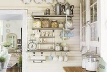 Heavenly Kitchens / Kitchens that I think are fabulous... / by Annie Lema