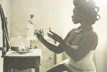Vanity Inspiration / Lingerie, powder tables, and dressing rooms  / by Selena La'Chelle