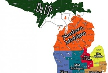 Michigan~~My Adopted Home / The state we call 'home' now and will until. . .  It didn't take long to become a Michigander and especially a SPARTAN!!  GO GREEN!!! / by Nancy Elsworth