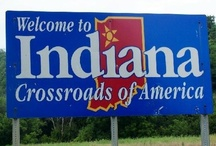 Indiana ~ Back Home Again / The state of my birth and growing-up years where many good memories still reside!  And, at the ♥ of it all, I'm still a good old hoosier born-n-bred gal! / by Nancy Elsworth