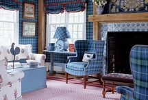 Living and Family Rooms~Around the House / by Nancy Elsworth