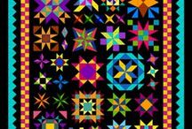 Delightful Stars Quilt-Along / Join the FUN! http://quiltinggallery.com/learning-center/delightful-stars-quilt-along/ / by Michele Foster