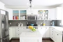 Kitchen | New England Ranch / by Sara Gwinn Erwin