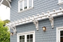 Exterior upgrades / by Laura Pole-Tree