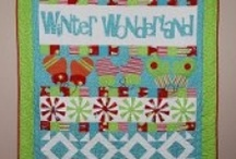 Winter Quilts / Winter quilts, snowman quilts, snowflake quilts / by FaveQuilts