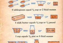 COOKING TIPS : CHARTS / by Connie Huffman