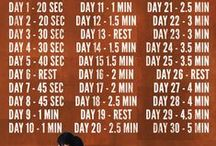 FITNESS : 30 DAY CHALLENGES / by Connie Huffman