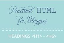 Code it Pretty / Posts from my own blog, and other pretty useful (or just plain pretty) techy things. / by Marie Mosley