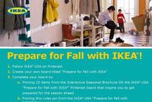 Prepare for Fall with IKEA / by darcey B