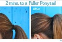 Hair Styles & Products & Tutorials / by Ashley Brooks