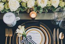 Stunning Table Settings | / by Tanja van Niekerk