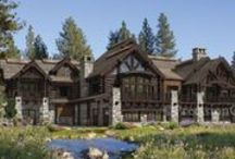 Popular Log Home and Timber Frame Home Floor Plans / Discover popular log home and timber frame home designs, floor plans and style trends.  Follow this board as we pin our most popular designs, client's customization renderings and introduce new plans. / by PrecisionCraft Log and Timber Homes
