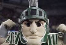 Crushin' on Sparty <3 / Michigan State Spartans mascot Sparty / by Michigan State Spartans