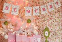 Flamingo Party - Pretty Pink Christmas / A fabulous pink flamingo party perfect for baby showers, birthdays or a pink Christmas with tropical flair! / by Hello My Sweet