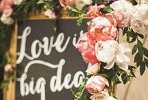 Weddings {decor} / by Ashley Hotka {Good Earth Floral Design Studio}