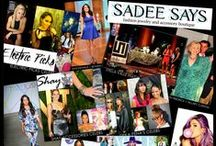 Sadee Says In The Press / All of our recent press for our fabulous designers. / by Sadee Says Accessories Boutique
