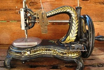 sewing machine love / by Scarlett Scales-Tingas (Scarlett Scales Antiques)