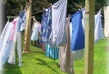clothes line / by Scarlett Scales-Tingas (Scarlett Scales Antiques)