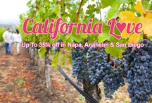 California Love / Take advantage of our California Love special offer and receive up to 35% off! Stay at our beautiful California properties in Napa Valley, Anaheim, and San Diego. Rates starting from $88 per night. / by Wyndham Extra Holidays