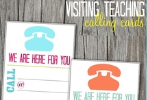Visiting Teaching Ideas  / by Lindsey Bremner