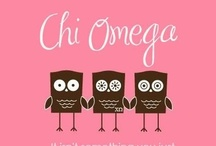 Chi Omega, Your's Forever / by Lauren Pearce