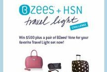 BZees / HSN Travel Light Challenge / Travel light challenge / by Naturalizer