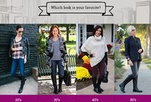 Style At Any Age / Naturalizer's blogger challenge featuring fashionable bloggers in their 20's, 30's, 40's and 50's! / by Naturalizer