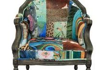 Chairs - A Place to Sit With Pizazz / Fill my home with chairs - large beautiful chairs! / by Kathleen Vail
