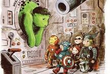 The Avengers / by Lucia Granda