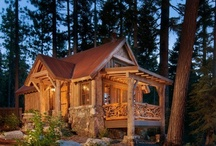 PLACES: Log Cabins Lifestyle / by Irene Kusters Berney