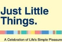 It's the little things / A celebration of life's simple pleasures / by Kathy Gaszak