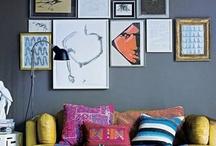 b client wall arrangements / by Lynn-Anne Bruns