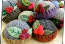 Felt, Felting & Wool / by DeeDee J
