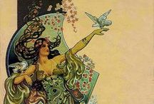 Art Nouveau and Art Deco  / 1880 - 1949 / by Violet Althouse