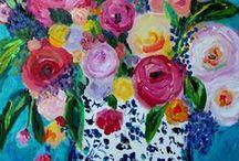 Art by Carolyn Shultz / by Carolyn Shultz/Blue Poppy Design