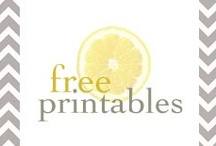 """Print out  """"Printables"""" / Copy it or print it out. / by Margaret Worsham"""