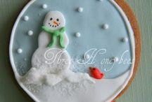 Holiday Cakes / Sweet Ideas / by Amy Creek