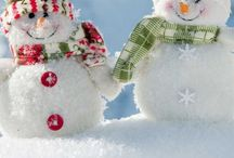 Snowmen ( And women too) / by Helen Senesac