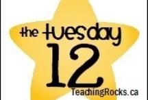 The Tuesday 12 @ www.teachingrocks.ca / by TeachingRocks!